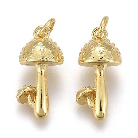 Brass PendantsKK-Z001-01G-1