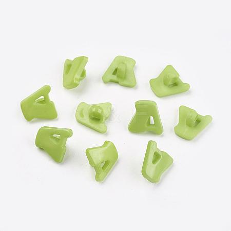 Acrylic Shank ButtonsX-BUTT-E028-06-1