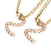 Double Layered NecklacesNJEW-JN02778-4