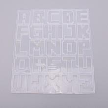 Alphabet Silicone Molds DIY-WH0183-58