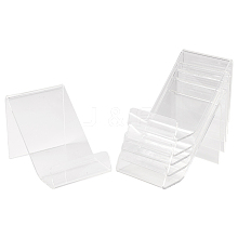 Acrylic Book Display Stands ODIS-WH0004-01