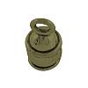 Tibetan Style Alloy Cord EndsX-TIBEP-Q052-36AB-FF-1