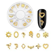 Metal Nail Art Decoration Accessories MRMJ-N005-001A
