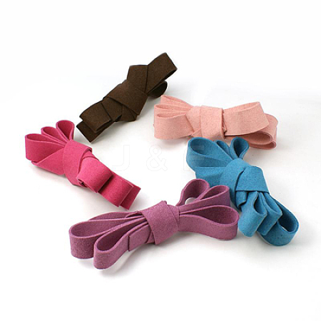Flat Faux Suede CordLW-141-20mm-M-1