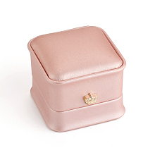 PU Leather Ring Gift Boxes LBOX-L005-A01