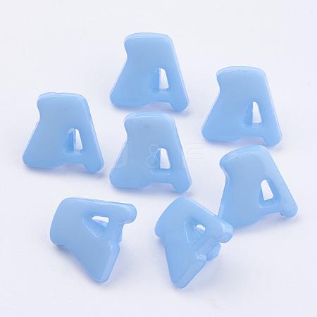 Acrylic Shank ButtonsX-BUTT-E028-09-1