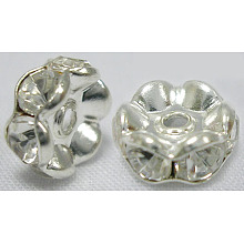 Rhinestone Spacer Beads RSB04C14
